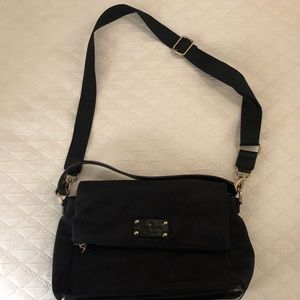 Kate Spade Black Purse with shoulder strap